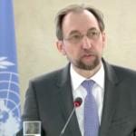 L'Alto Commissario Onu per i diritti umani Zeid Ra'ad al-Hussein attacca Cina, Russia e Stati Uniti