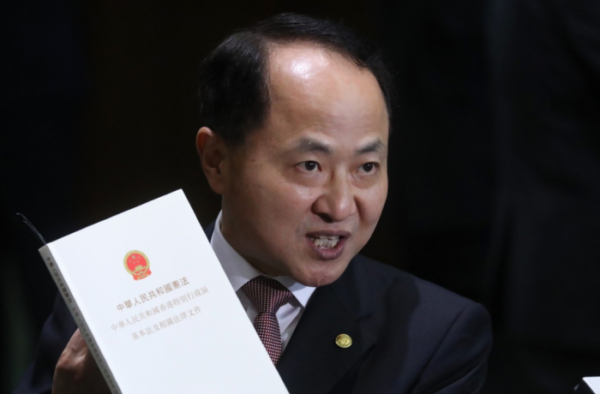 """E' """"fuorilegge"""" chi grida slogan per la fine della dittatura del Partito Comunista Cinese"""