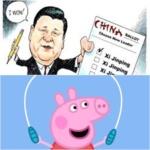 Xi Jinping attacca e sconfigge Peppa Pig