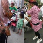 La Cina taglia i vestiti lunghi alle donne uigure