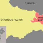 I tibetani residenti in nove villaggi della Contea di Gonjo forzatamente allontanati dalla loro terra