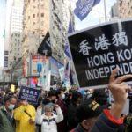 """Il Capodanno in piazza di Hong Kong: """"La Cina è la nostra prigione"""" [Video]"""