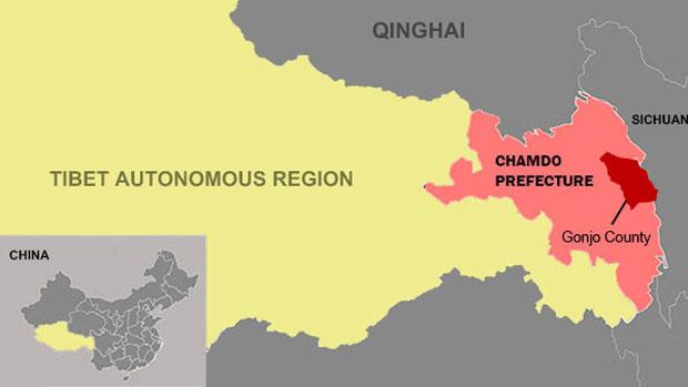 Famiglie tibetane obbligate con la forza a rinunciare alle loro terre e alle loro case natie