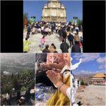 Pellegrini al santuario della Madonna per fermare la distruzione