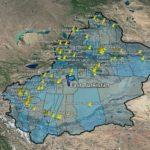 """Pubblicate le mappe di 500 prigioni e campi di """"rieducazione"""" sospetti dove la Cina sta rinchiudendo e torturando la minoranza etnica uigura."""