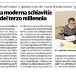 """FdI-Incontri: l'attivista Gianni Da Valle ha affrontato lo spinoso tema dei """"campi di rieducazione"""" gestiti da 70 anni dal governo cinese"""