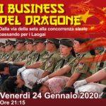 Il Business del Dragone-Congresso di Arcipelago Laogai a Lodi: Venerdi 24 gennaio ore 21.15.