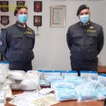 Maxi sequestro di mascherine e guanti non certificati made in China. Nei guai14 esercenti e due società di capitali trentine.[Video]