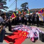 """Proteste della """"Giornata mondiale di azione"""" osservate in 25 paesi nel 71 ° anniversario della Repubblica popolare cinese"""