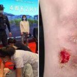 Polizia cinese picchia a sangue studenti del campus universitario che protestano